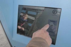 Máquina expendedora de billetes de la LAC.
