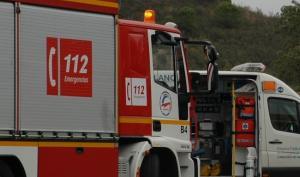 Un vehículo de bomberos.