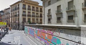 Calle Elvira, donde se produjo la mortal reyerta.