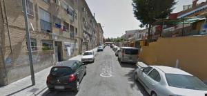 Calle Soto de Rojas, lugar del crimen.