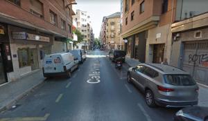 El altercado se registró en la calle Virgen Blanca.