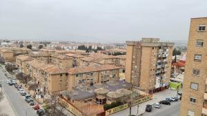 Vista de Cartuja, en el Distrito Norte, para el que el Defensor reclama un plan integral.