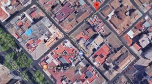 El fuego se ha producido en la calle Castañeda.