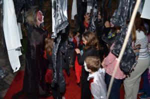 Una de las actividades en el Castillo 'terrorífico'.