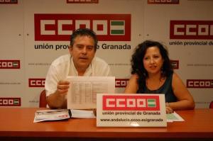 Diego Molina y Mercedes González, en una imagen de archivo.