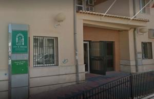 Entrada del centro de salud de Armilla.