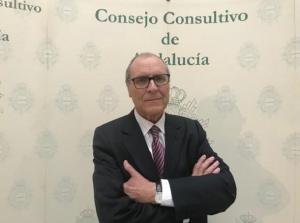 Joaquín Cifuentes, cuando fue nombrado vocal del Consejo Consultivo de Andalucía.