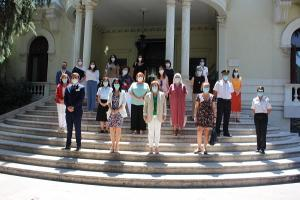 La delegada del Gobierno en Andalucía ha presidido la reunión este viernes en Granada.