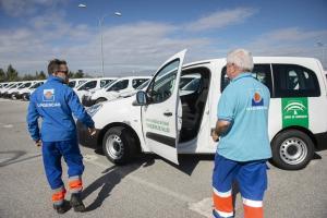 Nuevos vehículos para los centros de Atención Primaria de Granada.