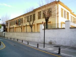 Colegio José Hurtado, uno de los afectados por amianto.