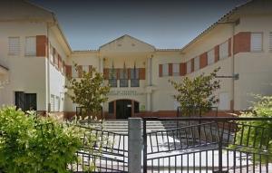 Colegio Tierno Galván, en Pulianas.