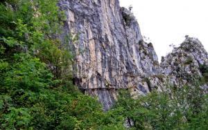 Uno de los parajes de la ruta que hacía la senderista granadina.