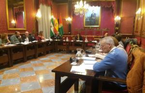 Comisión de Movilidad y Seguridad Ciudadana celebrada este miércoles.