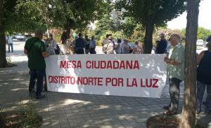Pancarta en la movilización llevada a cabo este viernes en Granada.