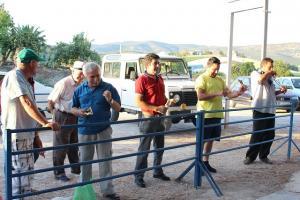 Participantes durante el concurso.
