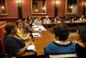 Reunión del Consejo Municipal de Inmigración este lunes.