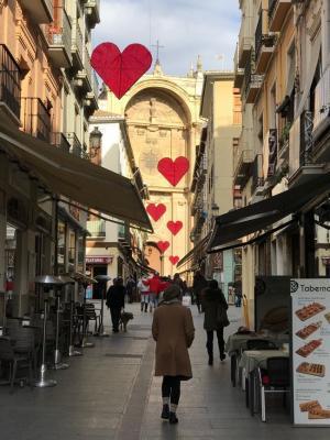 Calle Marqués de Gerona.