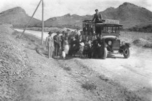 Correo Lorca-Vélez Rubio-Cúllar en 1918. ¿Vino en este coche el virus de la gripe desde el Levante hasta el Noreste de Granada?