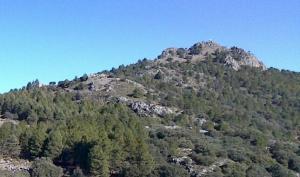 Cerro del Corzo, en la Sierra de Huétor, donde se produjo uno de los rescates.