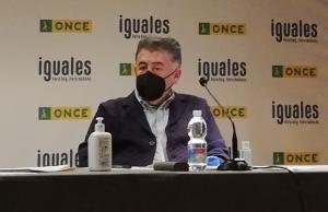 Manuel Martín en las jornadas sobre transición energética.