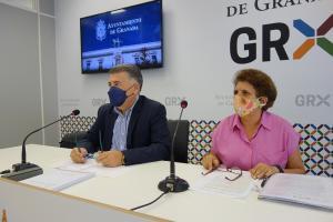 Manuel Martín y Laura Guillén.