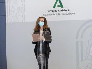 La delegada de Educación y Deporte de la Junta en Granada, Ana Berrocal.