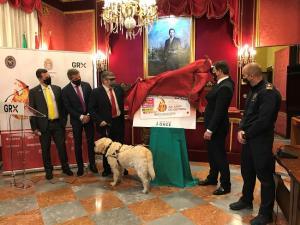El cupón se ha presentado en el Salón de Plenos del Ayuntamiento de Granada.