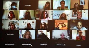 Multiconferencia con mujeres del medio rural de Granada.