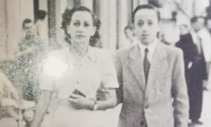 Diana con su hijo Guillermo.
