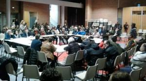 Reunión de vecinos y asociaciones del distrito Norte.