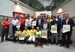 El ecomaratón se ha presentado este viernes en Diputación.
