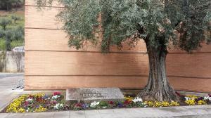 Entrada al cementerio de Granada.