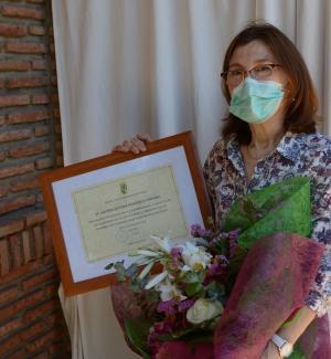 La enfermera Toñi Berdonces.