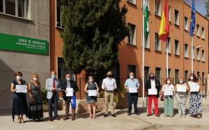 Representantes de las organizaciones implicadas en la demanda a Junta.