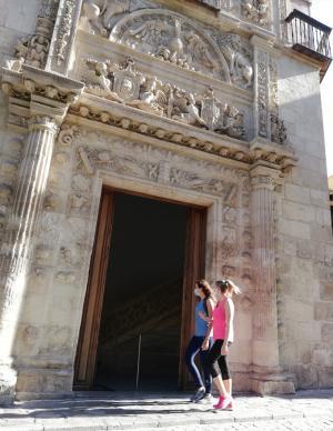 Imagen de archivo de la entrada al Arqueológico al reabrir tras el confinamiento.