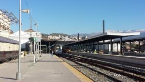 Imagen de la estación de tren el pasado octubre.