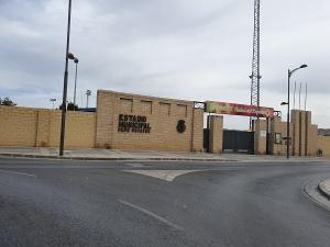 Estadio municipal de Guadix.