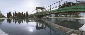 Estación de tratamiento de aguas.