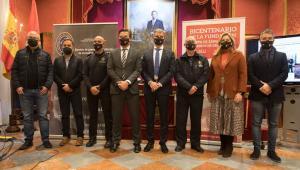 Presentación del bicentenario del Cuerpo de Bomberos de Granada.