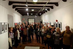 La exposición está instalada en el Torreón árabe de Las Gabias.
