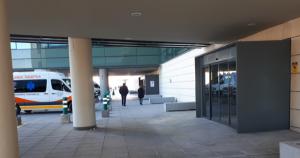 Exteriores de las urgencias pediátrica del San Cecilio Campus.