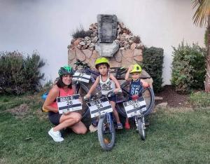 Algunos de los participantes del XXIX Día de la Bicicleta de Cúllar Vega.