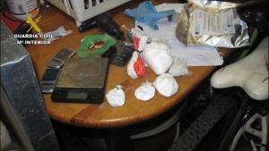 Cocaína y otros efectos intervenidos.