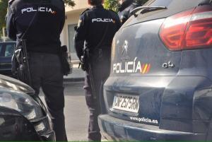 Agentes policiales, en una foto de archivo.