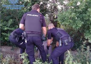 Imagen de archivo de un rescate policial.