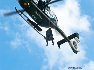 Foto de archivo de un rescate.