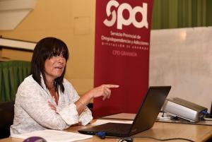 La responsable del Centro Provincial de Drogodependencias y Adicciones, Blanca Molina,