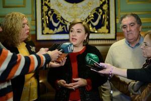Sandra García, delegada del Gobierno andaluz.