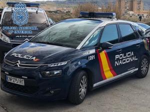 Vehiculos policiales.
