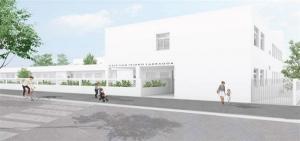 Ilustración de cómo será el nuevo centro.